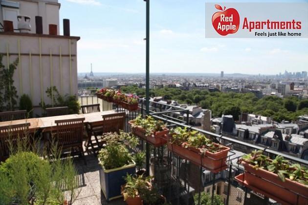Terrace Panorama - Apartment with Awesome views over Pari - 6686 - Image 1 - Paris - rentals