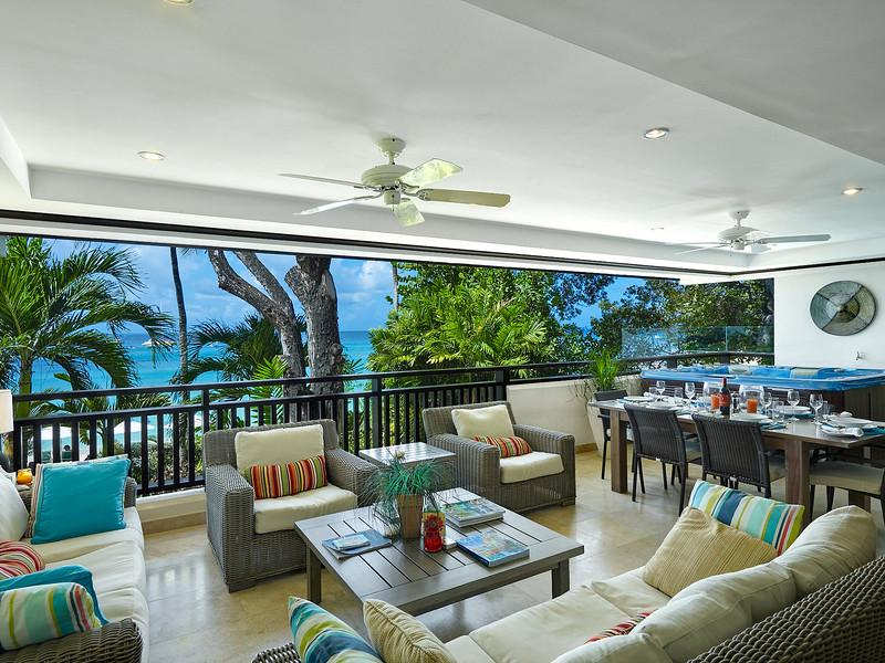 Coral Cove 6 - The Ivy at Payne's Bay, Barbados - Beachfront, Jacuzzi Pool, Walk To Restaurants, Shopping And Beach Bars - Image 1 - Paynes Bay - rentals