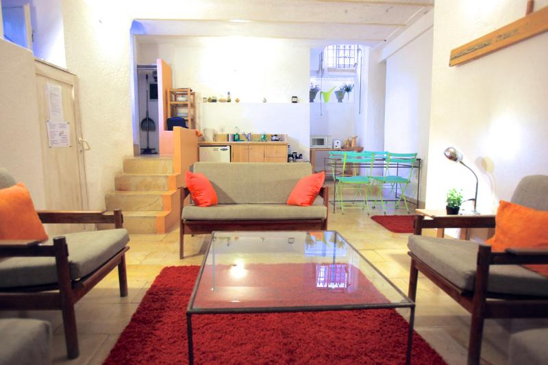 Living - Magas Garden House: The Suita - Great Location - Jerusalem - rentals