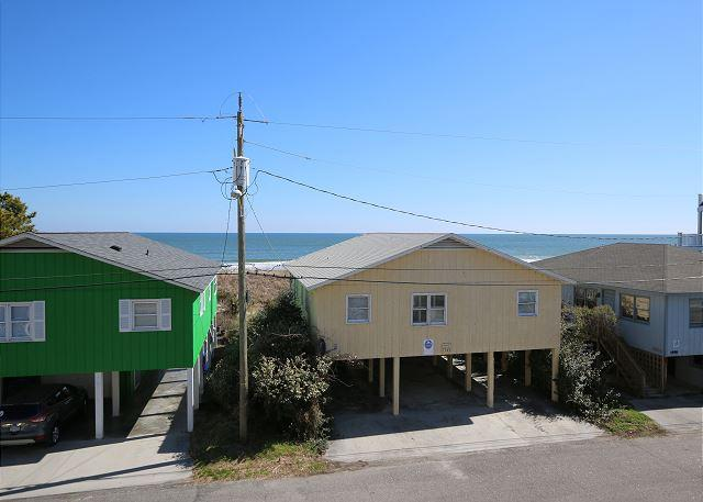 Tropical Winds B3 - Oceanview condo, open and spacious floor plan, community - Image 1 - Carolina Beach - rentals