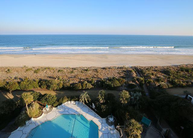 Station One - 8I From - Oceanfront condo with community pool, tennis, beach - Image 1 - Wrightsville Beach - rentals