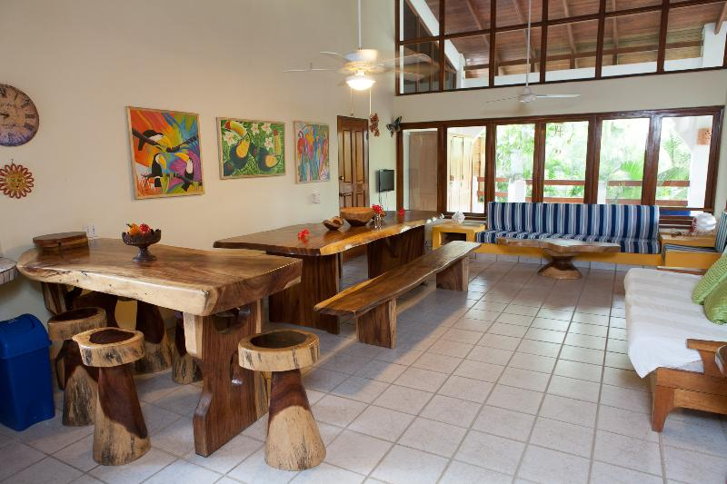 Living Room - Casa Sueca Apartment  50 meters from the Beach - Tamarindo - rentals