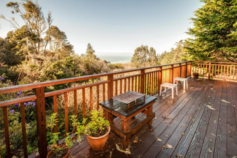 Become inspired by the sea views from the deck! Dog-friendly too! - Image 1 - Mendocino - rentals