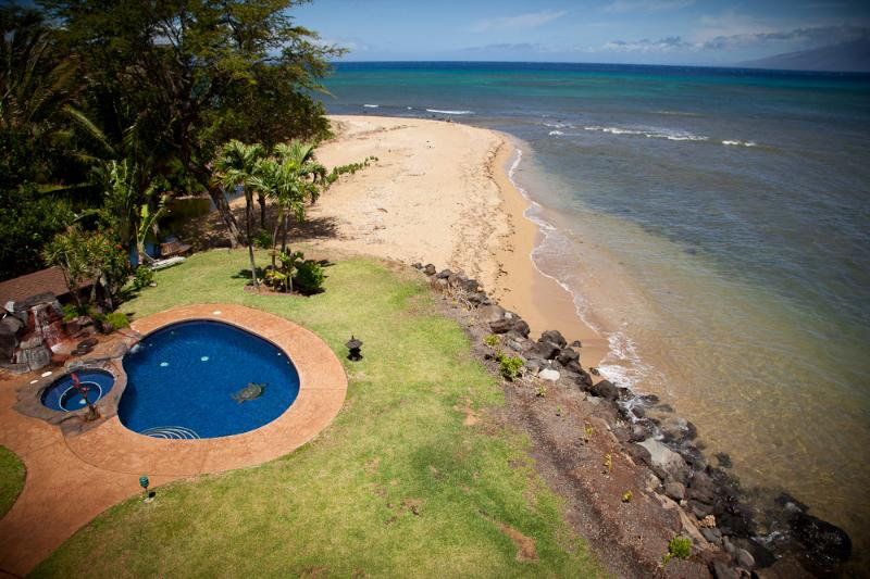 long beach with pool and jacuzzi - LUXURY for Villa w/ pool-Maui- 4 suite Villa Beach - Paia - rentals
