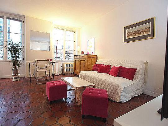 Sejour - studio Apartment - Floor area 28 m2 - Paris 4° #10411324 - Paris - rentals