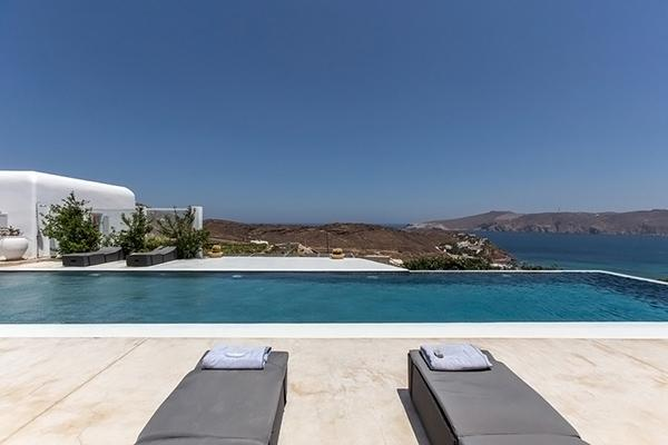 Located above Panormos Beach, this property was built as a vacation retreat for the discerning traveler. LIV ACQ - Image 1 - Mykonos - rentals