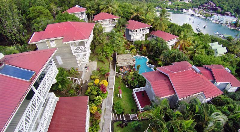 Welcome to the Vacation Club Villas overlooking Marigot Bay... - Vacation Club Villas of Marigot Bay (12 Units) - Marigot Bay - rentals