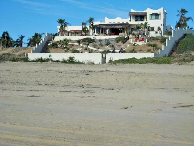 New West Wing 2015 addition to the far left of photo - Casablanca Beachfront Casitas - Todos Santos - rentals