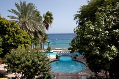 "Balcony View - Sirena Bay Estate, where ""The Bachelorette"" stayed - Otrobanda - rentals"