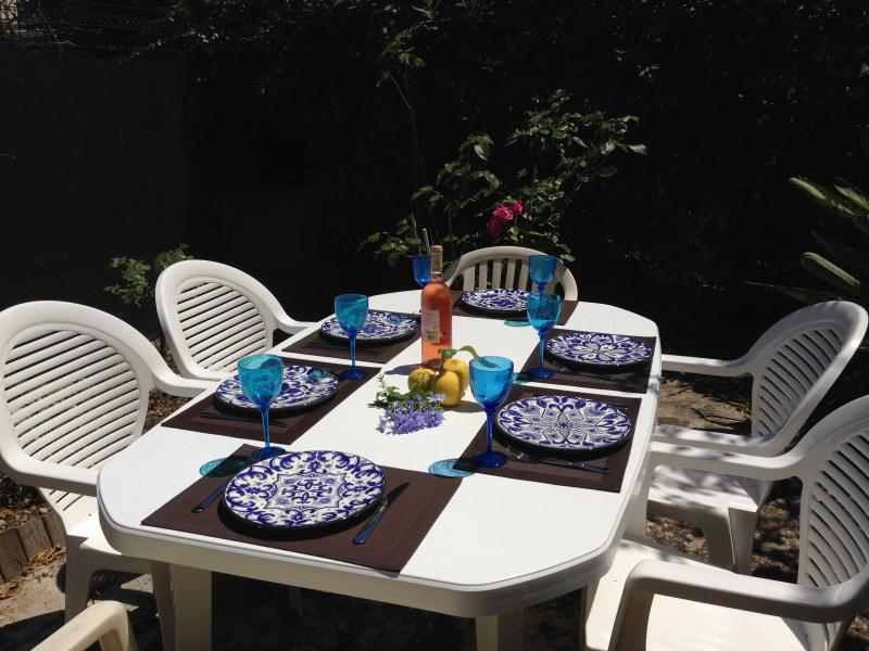 Sunny garden private dining area - CANNES 3 bedrooms flat WIFI 15 min to the Palais - Cannes - rentals