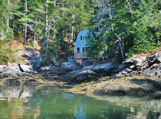 The Boat House next to Sunset Cottage - SUNSET COTTAGE BOAT HOUSE - Rented Only With Sunset Cottage - West Bath - rentals
