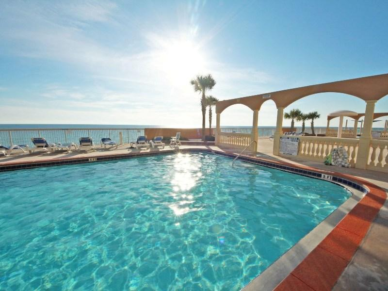 Beautiful Lagoon Pool - Gorgeous Oceanfront Condo with Breathtaking Ocean Views - Panama City Beach - rentals