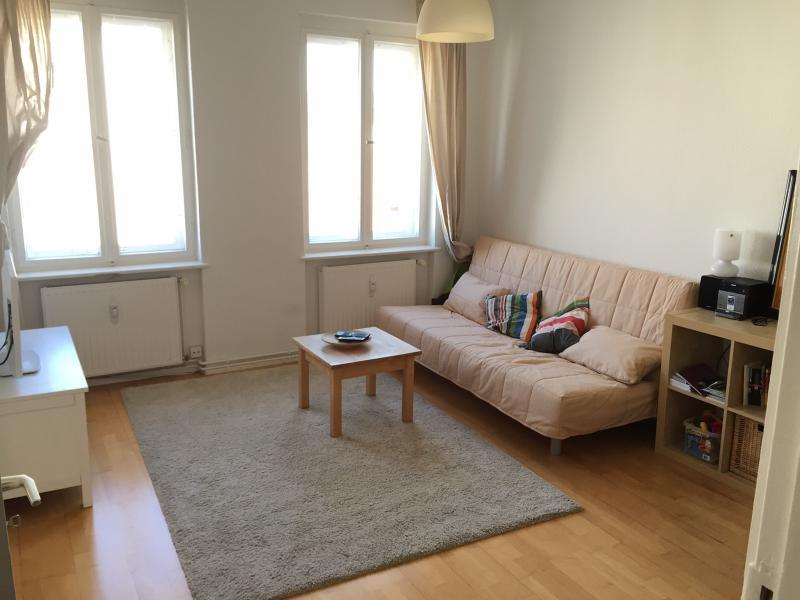 Living room - Beautiful 2Room City Apartment in Berlin/Kreuzberg - Berlin - rentals