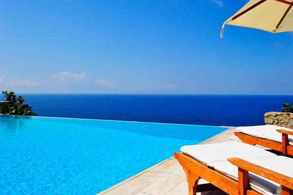 Part of a large, exclusive estate, Selene is a charming villa in the Agios Lazaros area. LIV SEL - Image 1 - Mykonos - rentals
