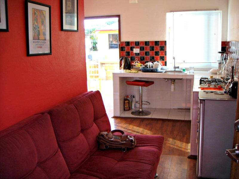 Small living room/kitchen - Small and modern apartment in Tapachula - Tapachula - rentals