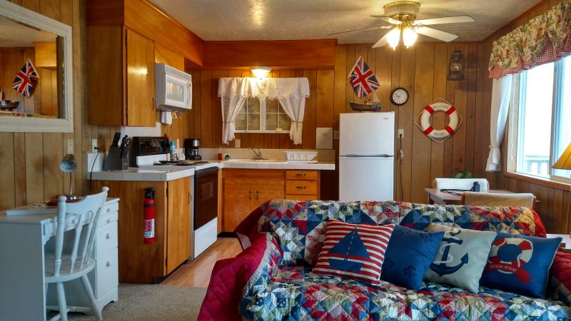 Moonraker - 1 BD, kitchen, beachfront, fireplace - Image 1 - Lincoln City - rentals