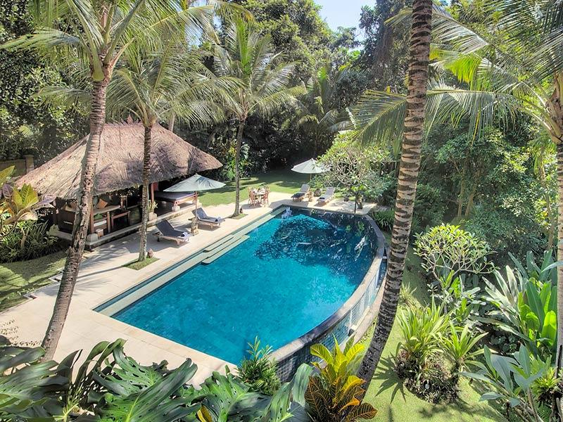 Villa Alamanda - Overview of pool area - Villa Alamanda - an elite haven - Ubud - rentals