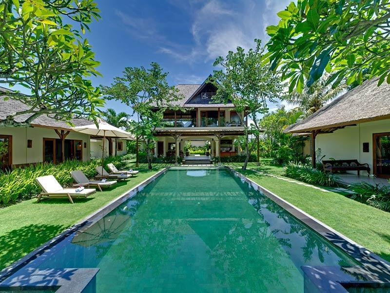 Villa Asmara - View across pool to main house - Villa Asmara - an elite haven - Bali - rentals