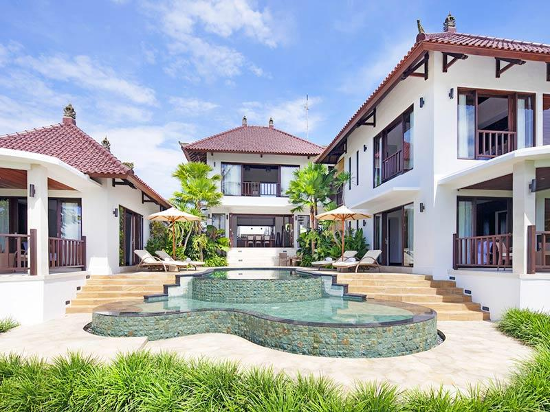 Canggu Terrace - 3 bedroom villa overview - Villa Penari - an elite haven - Canggu - rentals