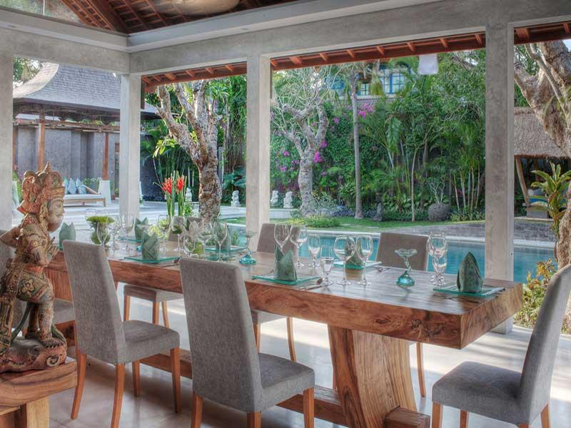 Lataliana - Dining and pool view - Lataliana I - Seminyak - rentals