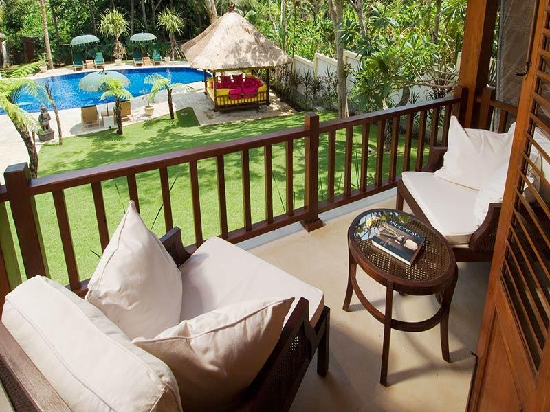 Villa Mako - Balcony view of pool - Villa Mako - an elite haven - Canggu - rentals