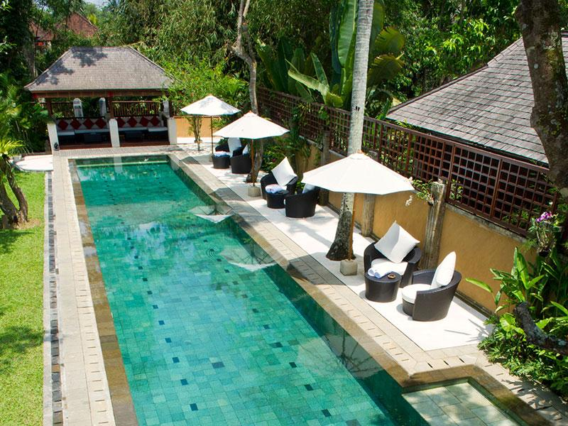 Villa San - Full view of pool - Villa San - an elite haven - Ubud - rentals