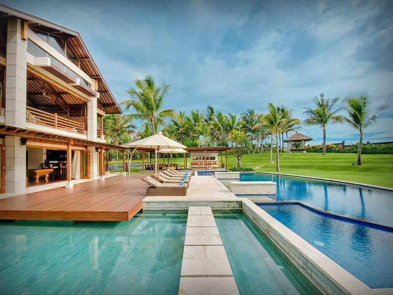 Semarapura - Pool and lawn area - Villa Semarapura - an elite haven - Seseh - rentals