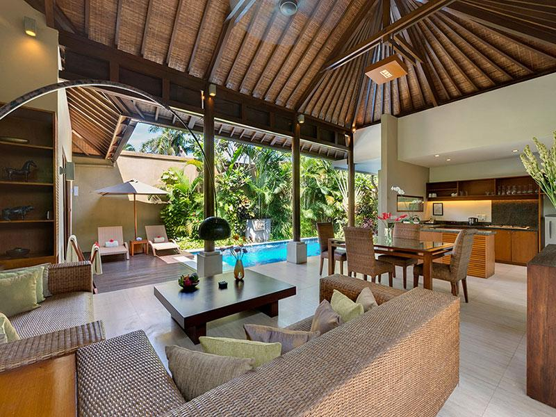 Solo - Living area view to pool - Villa Solo - an elite haven - Seminyak - rentals
