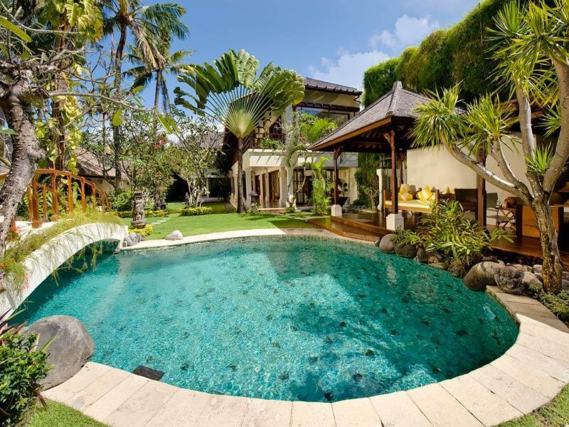 Taman Sorga - Swimming pool and pool house - Villa Taman Sorga - an elite haven - Sanur - rentals