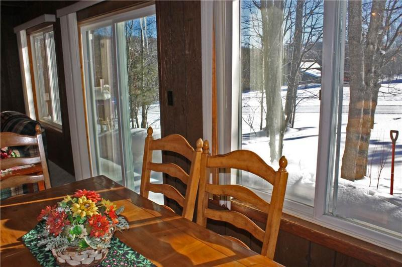 Located at Base of Powderhorn Mtn in the Western Upper Peninsula, A Comfortable Trailside Duplex with Large Brick Fireplace & Access to Lift 1 - Image 1 - Bessemer - rentals