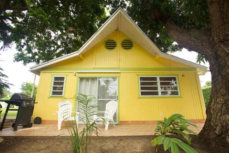 Located on over 4 acres of Marine Reserve Beachfront Landscape - Charming Cottage by the Ocean - Rincon - rentals