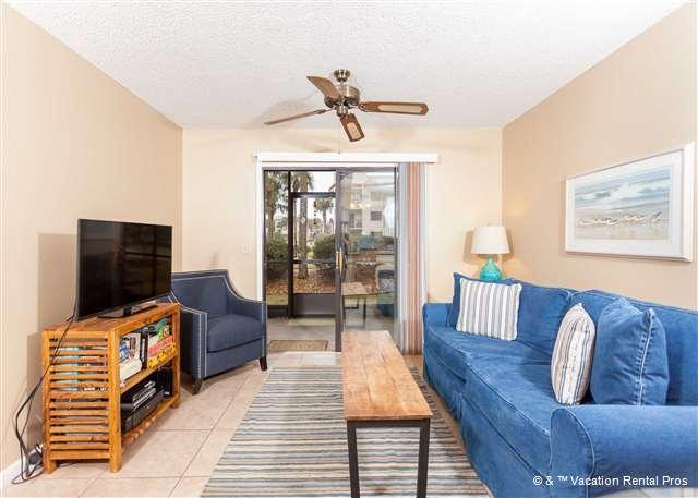 Our LCD TV includes a DVD and cable - Ocean Village N16 Ground Floor unit, HDTV, 2 Pools, Beach - Saint Augustine - rentals