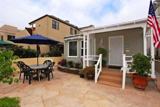 San Diego Vacation Rental with Large Private Courtyard  - Sea Sparkle - South Mission Beach - Pacific Beach - rentals