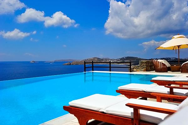 Private, waterfront property located within ultra- exclusive complex. LIV HER - Image 1 - Mykonos - rentals