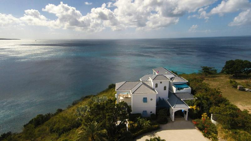 Grand Outlook Castle located on a private and secure point with views of true forever... - BEST VIEWS ON ANGUILLA... IT IS TRUE! 80 REVIEWS - Sandy Ground - rentals