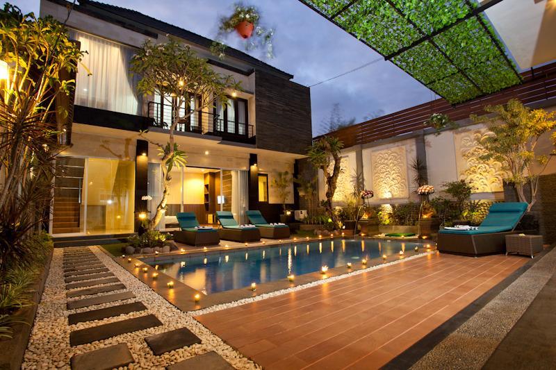 villa view - Nakula, Luxury 4 Bedroom Villa, Seminyak-Legian - Seminyak - rentals