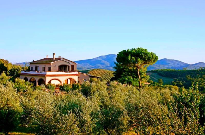 6 bedroom Villa in Roccastrada, Maremma, Tuscany, Italy : ref 2294033 - Image 1 - Roccastrada - rentals