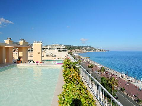 Royal Luxembourg 2 Bedroom Nice Vacation Rental with Terrace - Image 1 - Nice - rentals