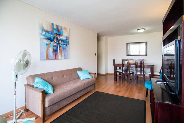 5 people Apartment AV Ricardo Lyon - PROVIDENCIA from USD$65 to 115 p/night 2 or 4 peop - Santiago - rentals