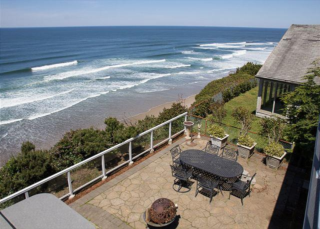 Stunning, Oceanfront Home w/ Luxurious Details and Unparalleled Amenities - Image 1 - Lincoln City - rentals