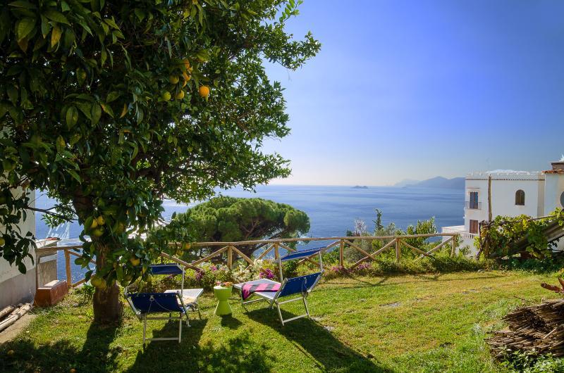 Villa Michara Praiano luxury house garden sea view - Image 1 - Praiano - rentals