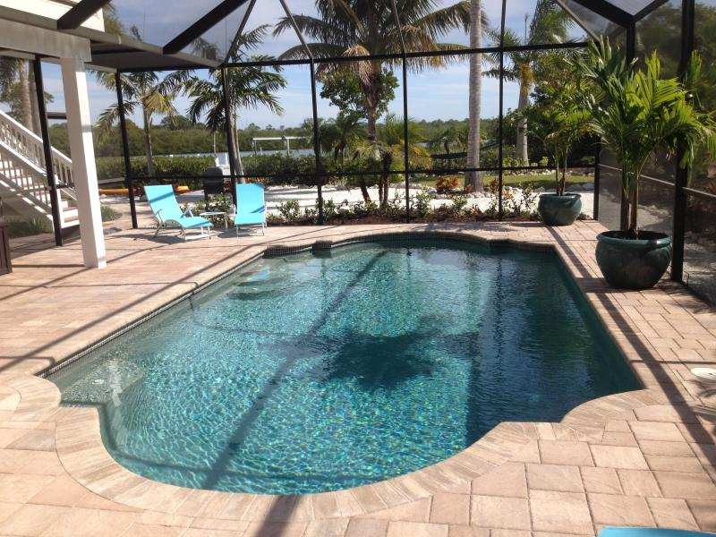 Private Heated Pool - The Silver Palm Waterfront Pool Home - Palm Island - Englewood - rentals