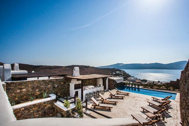 Mykonos Panormos - 4 BD Private Pool Villa - Image 1 - Panormos - rentals