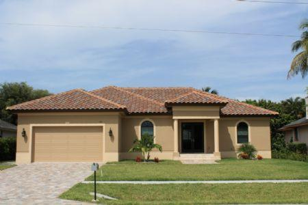 "Charming NEW Home ! - Beautiful ""Walk to the Beach"" Vacation Home in prime Island location - Marco Island - rentals"