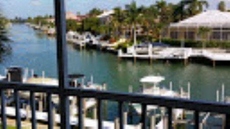 Beautiful waterway view - Beautiful Water views from the balcony of this Comfy Condo ! - Marco Island - rentals