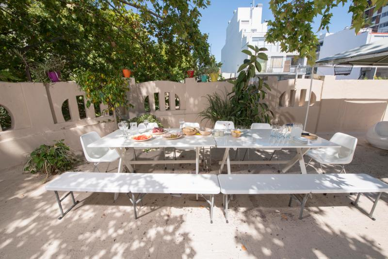 great terrace with table for 14 BBQ - Art House with an amazing terrace - Buenos Aires - rentals