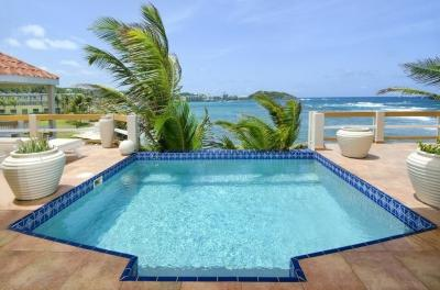 Unparalleled 3 Bedroom Beachfront Villa on Dawn Beach - Image 1 - Dawn Beach - rentals