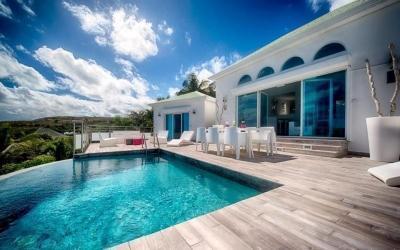 Delightful 3 Bedroom Villa overlooking Orient Bay Beach - Image 1 - Orient Bay - rentals