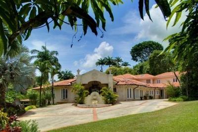 Exterior. - Lovely 5 Bedroom Coral Stone Villa in Sandy Lane - Sandy Lane - rentals