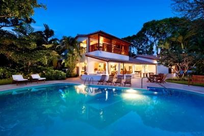 4 Bedroom Beachfront Villa in the Tropical Gardens of St. James - Image 1 - Gibbs Bay - rentals